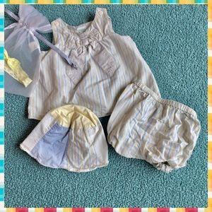 Gymboree 3-piece young infant set